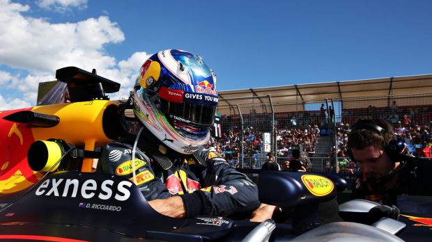 Daniel Ricciardo finished fourth in his home grand prix