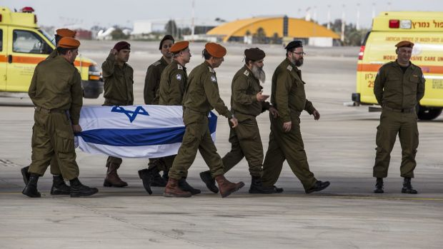 The bodies of three Israeli tourists killed in Istanbul on Saturday are returned to Tel Aviv.