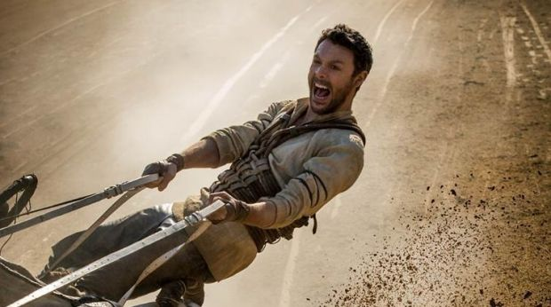 Jack Huston as Judah Ben-Hur in the 2016 version of Ben-Hur.