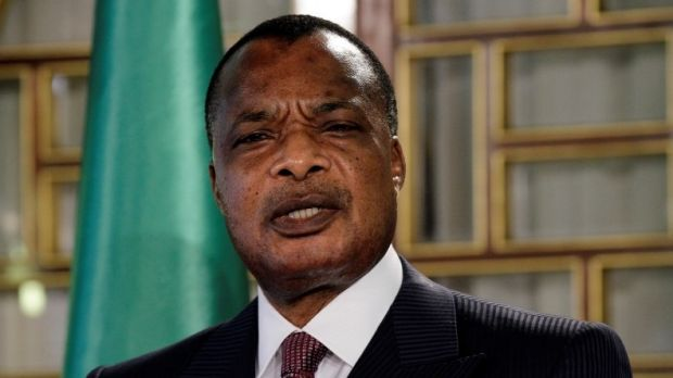 Congo's President Denis Sassou Nguesso in Tunisia last year.