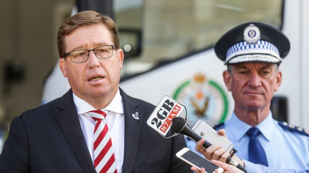 "Deputy Premier and Justice Minister Troy Grant says the changes will make it ""quicker and easier"" for law enforcement to ..."