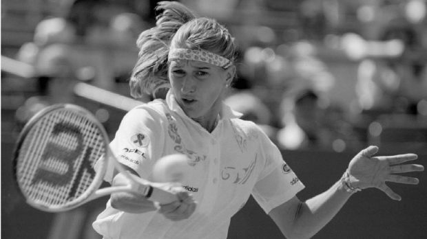 Steffi Graf at the 1994 US Open.