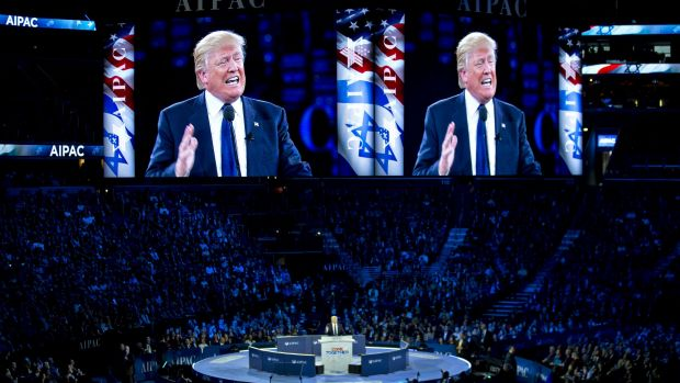 "Donald Trump sought to reassure supporters of Israel after earlier declaring he would be ""neutral"" on the conflict with ..."