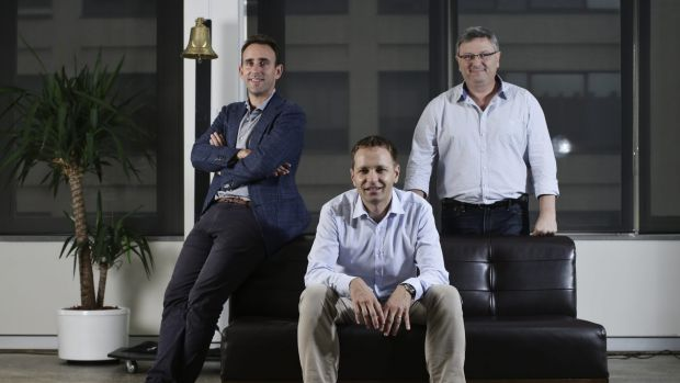 Flare HR co-founders Daniel Cohen, Jan Pacas and Saul Kaplan plan to disrupt default super.