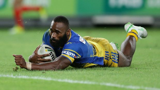 """I don't want the rules change for me"": Parramatta's Semi Radradra."