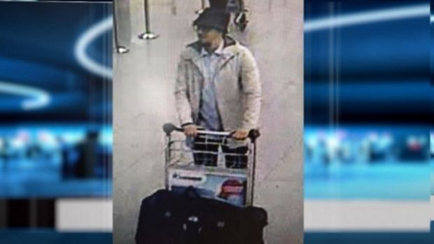 Police are seeking information on this man in relation to the Brussels attacks.