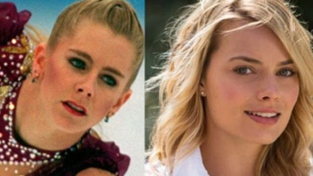 Actress Margot Robbie plays disgraced US ice skater Tonya Harding in the film