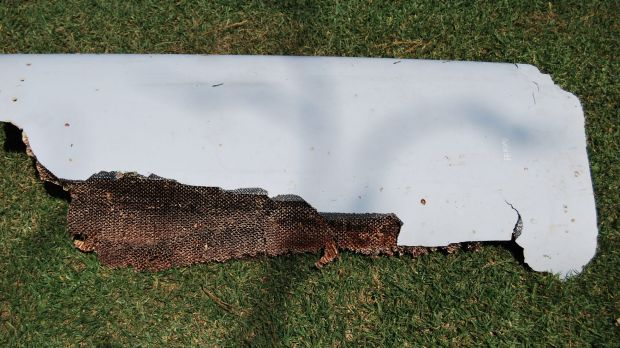 A curved piece of debris which may be part of the missing Malaysia Airlines Flight MH370, was found in Wartburg, South ...
