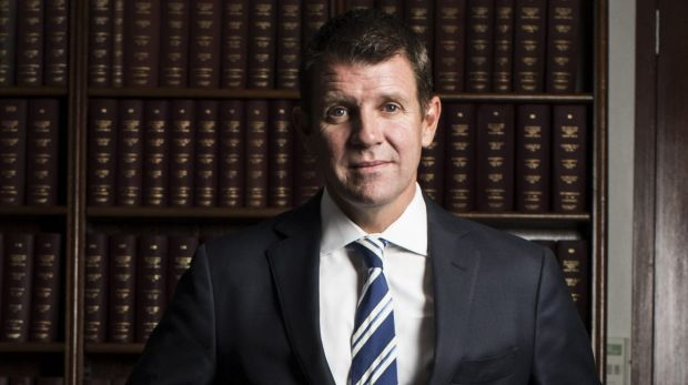 Vowed to tackle tough issues, such as corruption in the political donations systems: NSW Premier Mike Baird.