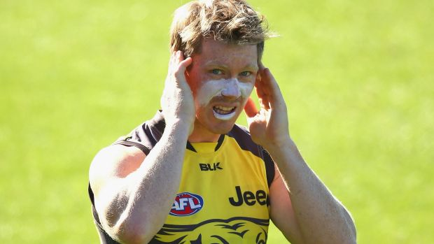 Jack Riewoldt has consistently put the runs on the board for the Tigers in recent years.