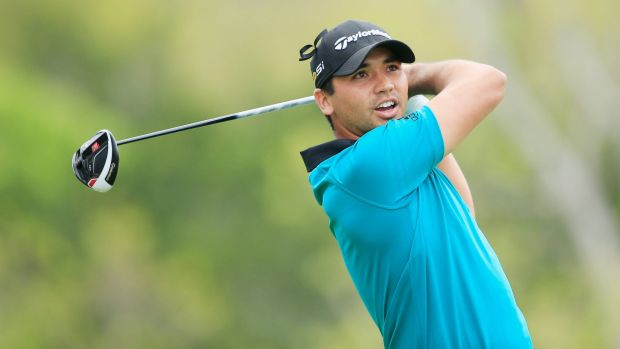 No problems: Jason Day is managing his back injury well.