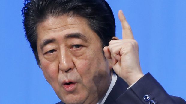 abenomics prime minister shinzo abe of Watch video  if the government's approval ratings fall further, abe may either not run or face defeat in the upcoming ldp leadership election, echoed marcel thieliant, senior japan economist at capital economics that could spell trouble for the prime minister's abenomics reform program that has helped revived the world's third-largest economy.