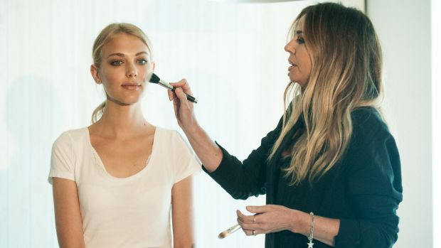 """If you can clearly see a stripe on your face, you've gone too far,"" Liz Kelsh said at the launch of her new line of ..."