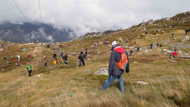 Where to find an easter egg hunt in canberra and at the top of last years easter egg hunt on mount kosciuszko when eggs worth 10000 were up for grabs negle Image collections