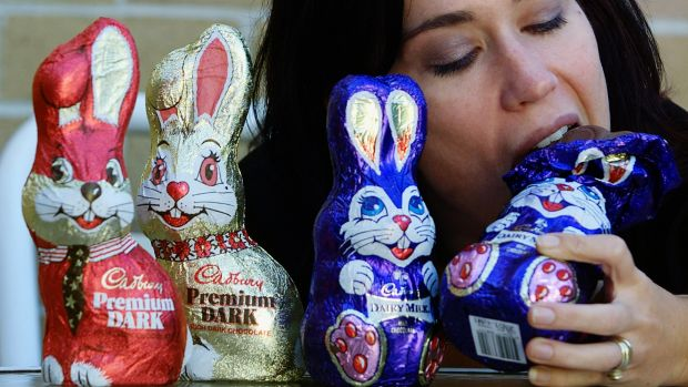 Don't stress out about eating chocolate this Easter.