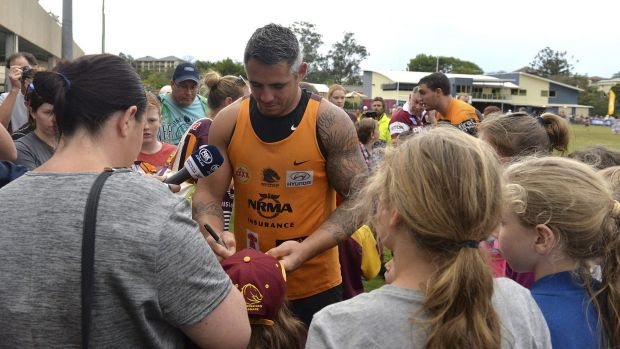 Popular man in league land: Broncos forward Corey Parker's worth is revealed by his fantasy league numbers.