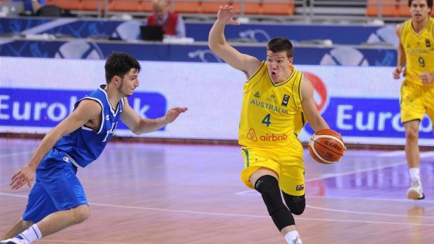 Dejan Vasiljevic has starred for Australia at the under-17 and under-19 world championships.