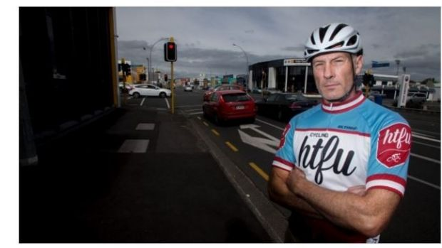 Cyclist Wayne Attwell is angry that a YouTube user appears to have faked a rant against cyclists to generate hits.