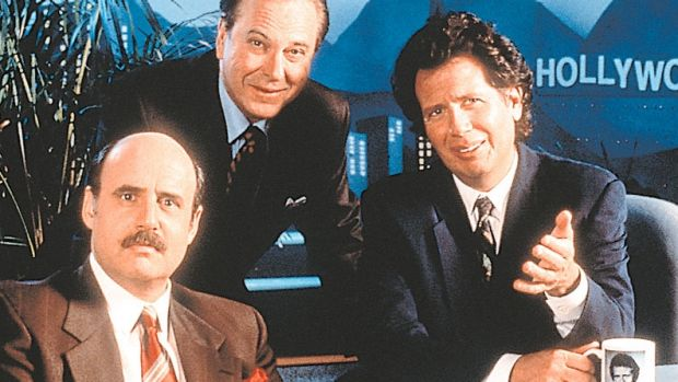Garry Shandling made his name in The Larry Sanders Show.
