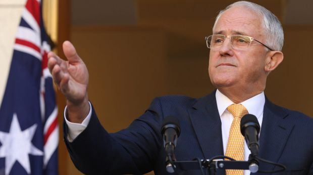 Prime Minister Malcolm Turnbull has made his strategy clear.