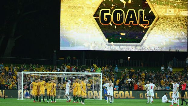 The end game: Socceroos coach Ange Postecoglou wants to see the national teams kicking goals on, and off, the park.