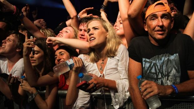 Crowds flooded in for Kendrick Lamar at Bluesfest.