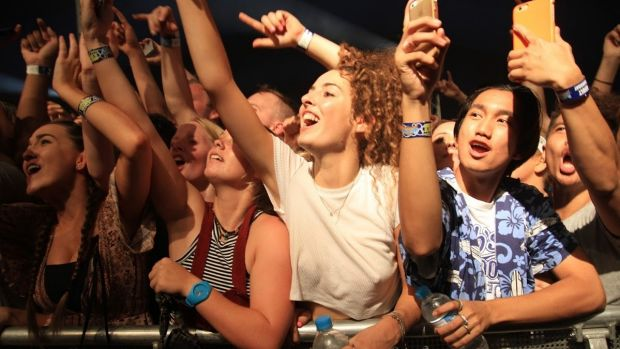 Most of the crowd knew who Kendrick Lamar was at BluesFest Byron Bay.
