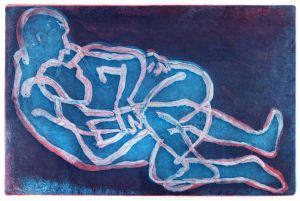 Tackle etching by Jim Pavlidis.