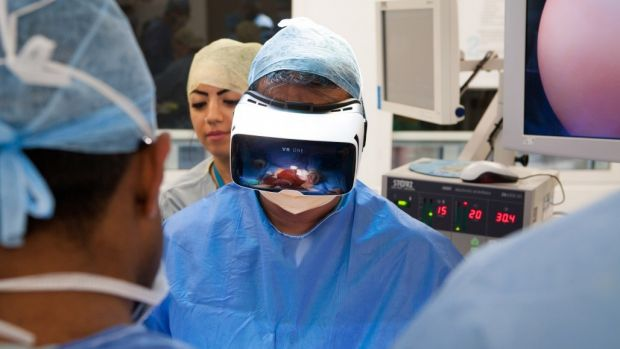 Anyone with a VR headset can tune into the live surgery broadcast.