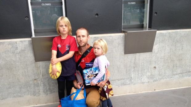 Andy Ashton said his family has been left traumatised after their seven-year-old was left chasing the train when the ...