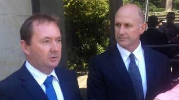 Former Corrective Services Minister Joe Francis and ex-Corrective Services Commissioner James McMahon have been linked ...
