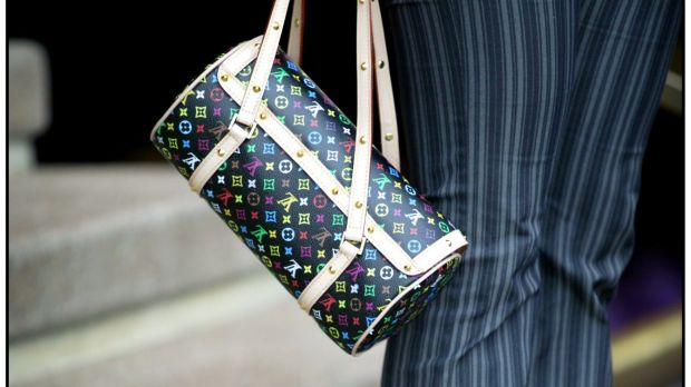 The study examined about 150,000 posts tagged with luxury good brand names, such as #LouisVuitton, and found that 20 per ...