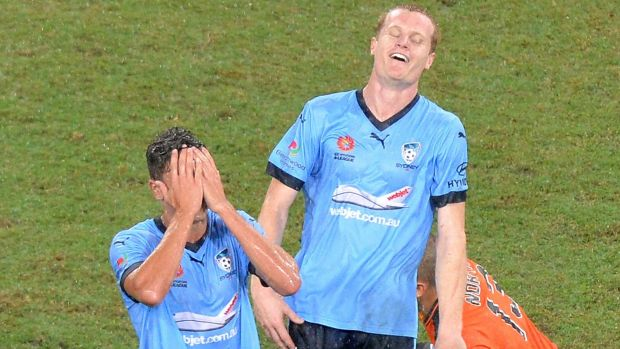 The end: Sydney FC suffered a last-gasp loss.