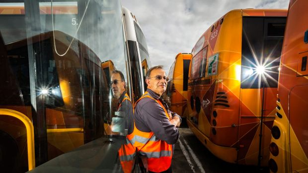 Unless buses are given priority on Melbourne's roads, drivers like Charles Lablache can do little to ensure a reliable ...