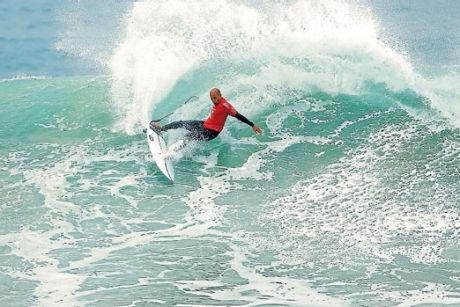 Kelly Slater in action.
