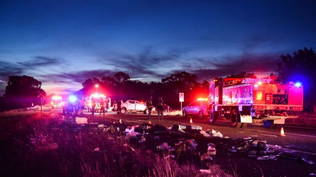 A six-year-old girl was critically injured in a crash in Victoria's north-east.
