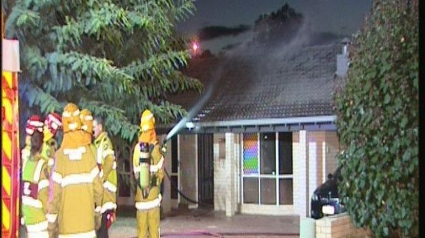 It took firefighters until midnight to extinguish the fire, which caused extensive damage.