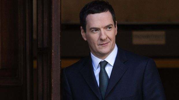 George Osborne, former UK Chancellor of the exchequer.