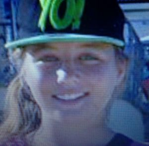 Police said the girl was wearing this cap when she was last seen.