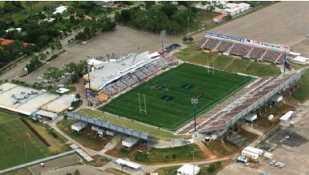 The existing Townsville rugby league stadium.