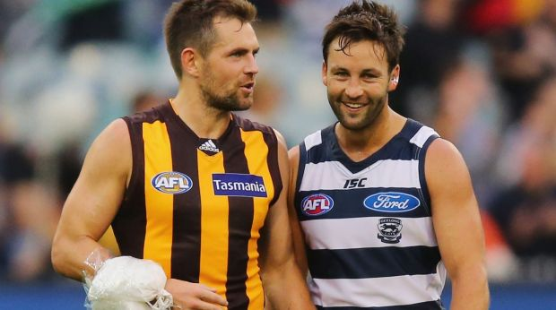 Fighting fit: Luke Hodge has been named to return.