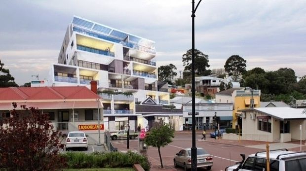 The planned King William Street development will retain the facade of the older building, but the council believes the ...