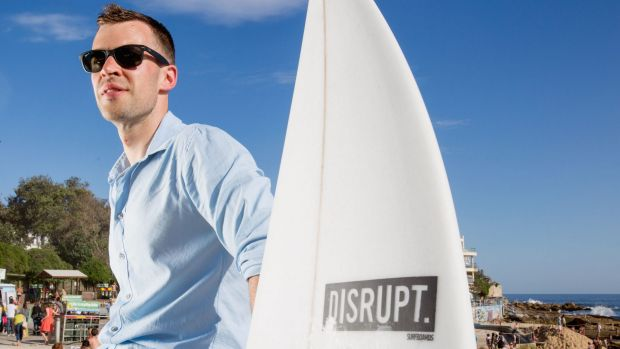 Gary Elphick, co-founder of customised sports equipment manufacturer Disrupt, is disillusioned after his business ...