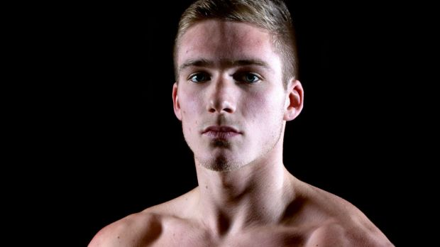 British boxer Nick Blackwell who is in an induced coma in a hospital in London.