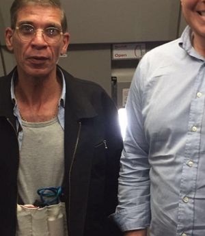Seif Eldin Mustafa, left, has been identified as the hijacker of EgyptAir flight MS181 by broadcasters.