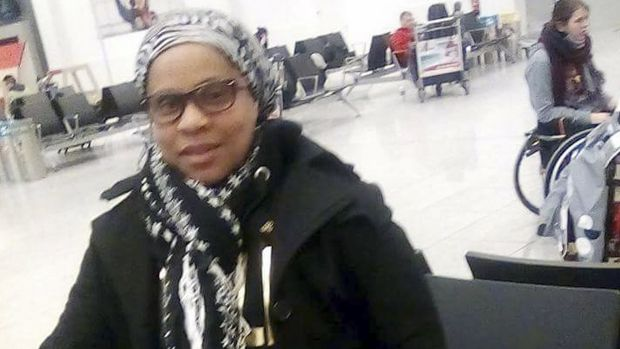 Elita Borbor Weah was killed in Brussels airport. She sent the family this photo shortly before bombs went off nearby.