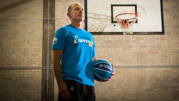 New Canberra Capitals head coach Paul Goriss.