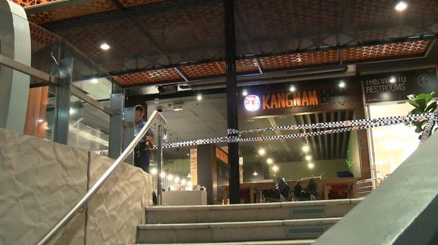 The fatal stabbing occurred at the Kangnam BBQ restaurant in Westfield Hornsby.