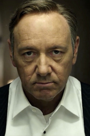 Classic binge-watch material ... Kevin Spacey in <i>House of Cards</i>.