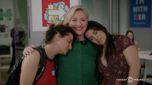 Broad City will censor Trump's name like a swear word